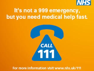 NHS 111 number switch information and resources