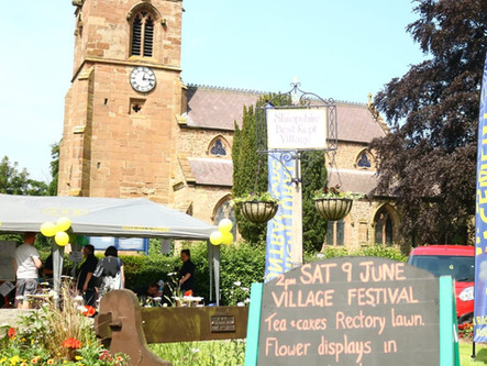 The Village Festival is nearly here! 15th June @ 1PM