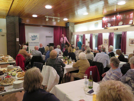 Norton in Hales Parish Council's Celebration Evening' – 2 October 2018