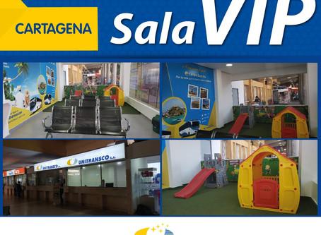 Nueva Sala VIP en Cartagena