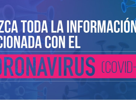Medidas especiales por Coronavirus