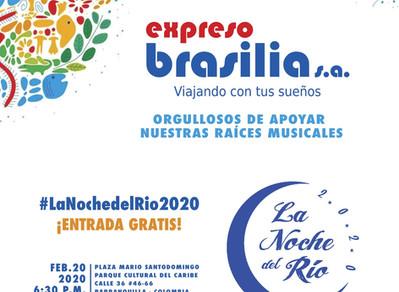 Expreso Brasilia apoyó la Noche del Río
