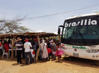 Brigada de salud en Uribia