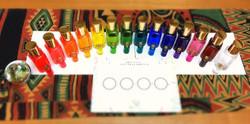 14本のカラーボトル