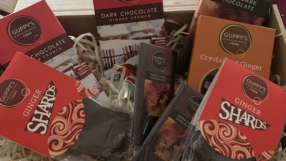 Ginger lovers Yorkshire Chocolate Hamper
