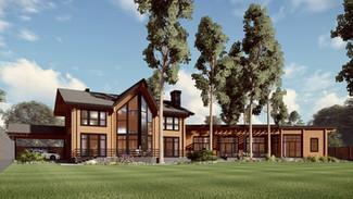 Индивидуальный жилой дом 721-440м