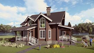 Индивидуальный жилой дом 245-209м