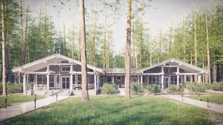 Индивидуальный жилой дом 443-288м