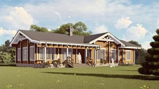 Индивидуальный жилой дом 240-205м