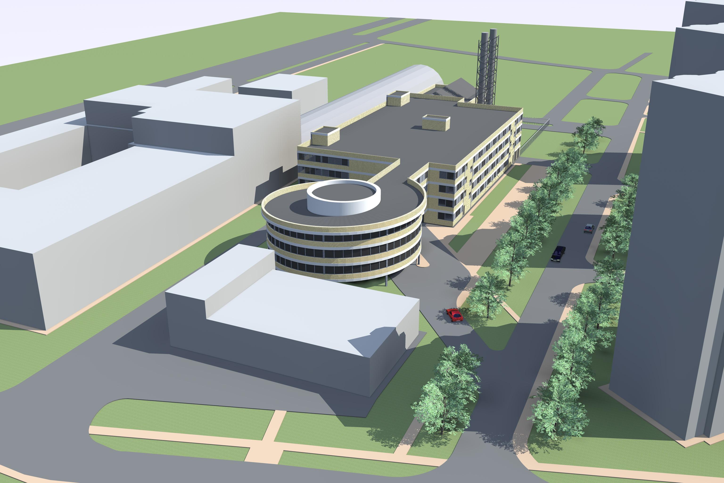Гаражный комплекс с Энергоцентром