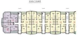 План 6-7 этажа