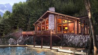 Индивидуальный жилой дом 258-180м
