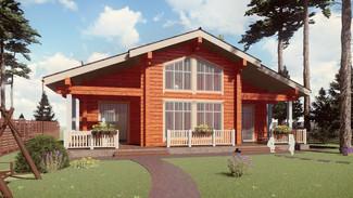 Индивидуальный жилой дом 168-118м