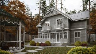 Жилой дом 300-270м