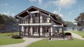 Индивидуальный жилой дом 180-120м