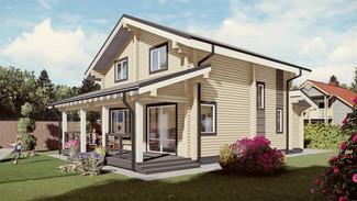 Индивидуальный жилой дом 160-130м