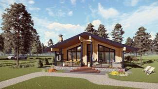 Индивидуальный жилой дом 144-98м