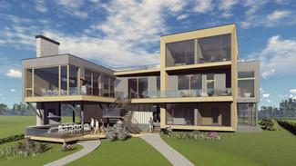 Индивидуальный жилой дом 600-370м