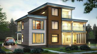 Индивидуальный жилой дом 348-269м