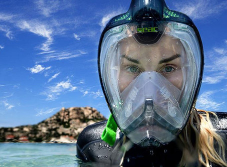 Full Face Snorkeling Masks - idiocracy or evolution?