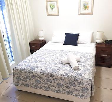 Mango Tree Holiday Apartments Port Douglas accommodation ground floor apartment master bedroom
