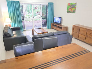Mango Tree Holiday Apartments Port Douglas accommodation townhouse living room