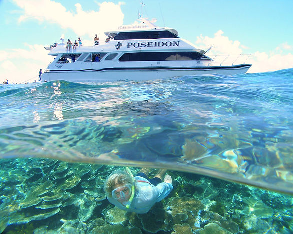 Poseidon Great Barrier Reef snorkel and dive boat