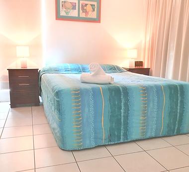 Mango Tree Holiday Apartments Port Douglas accommodation first floor apartment master bedroom