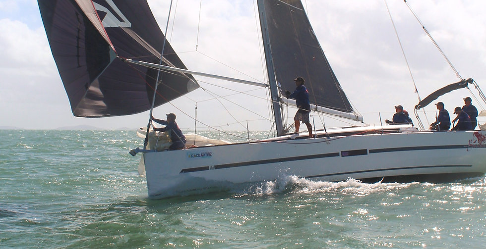 yacht flying spinnaker Port Douglas Race Week