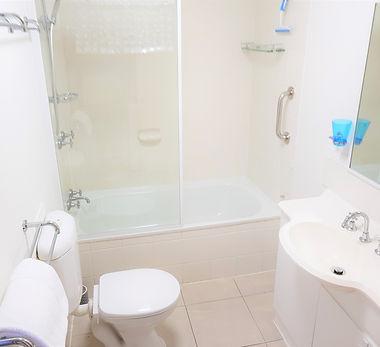 Mango Tree Holiday Apartments Port Douglas accommodation ground floor apartment bathroom