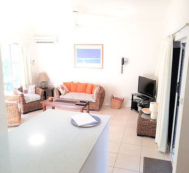 Mango Tree Holiday Apartments Port Douglas accommodation living room