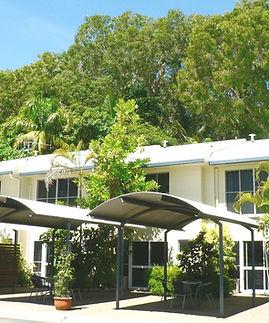 Mango Tree Holiday Apartments Port Douglas accommodation Townhouse left view