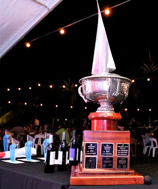 Clipper Cup trophy