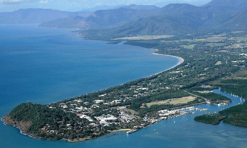 Port Douglas aerial image