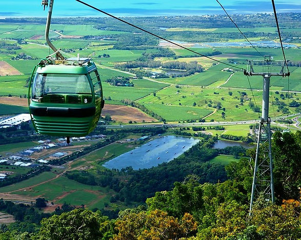 Cairns skyrail view