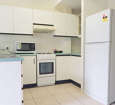 Mango Tree Holiday Apartments Port Douglas accommodation townhouse kitchen