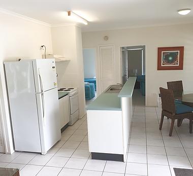 Mango Tree Holiday Apartments Port Douglas accommodation first floor apartment kitchen