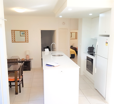 Mango Tree Holiday Apartments Port Douglas accommodation ground floor apartment kitchen