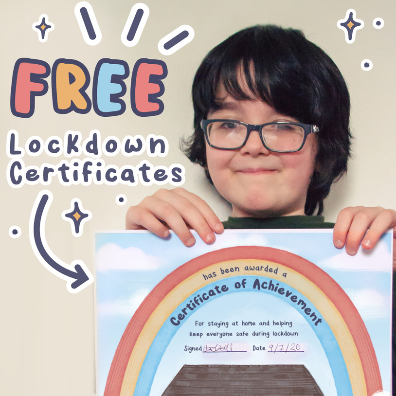 Free Lockdown Certificates
