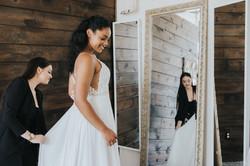 Seattle Bride in Designer Wedding Dress