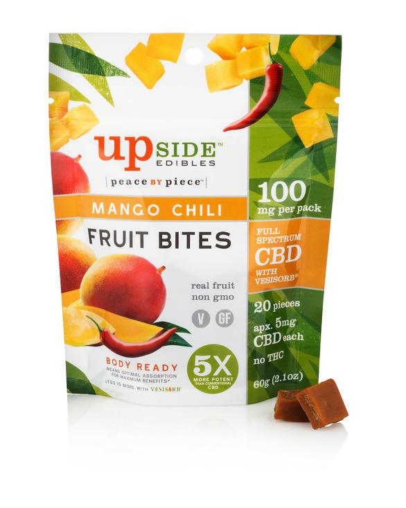 Mango Chili Fruit Bites