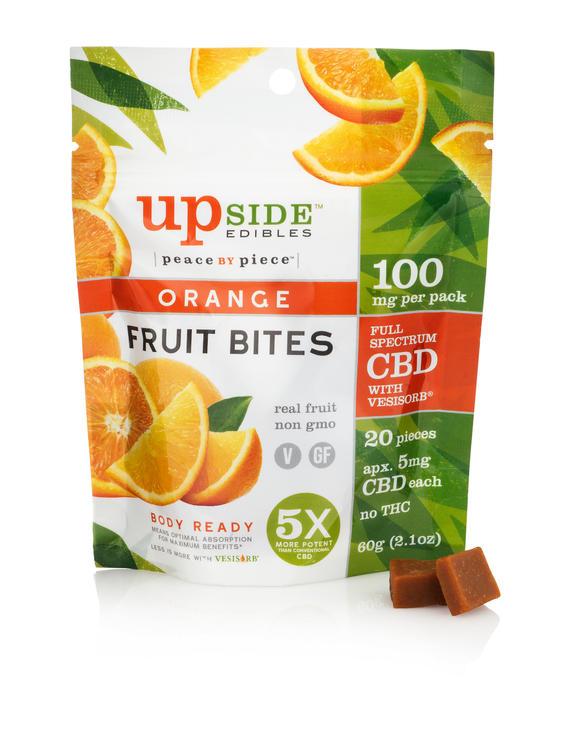 Orange Fruit Bites