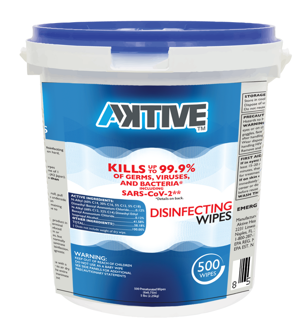 Aktive Surface Disinfecting Cleaning Wip