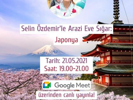 Selin Özdemir ile Arazi Eve Sığar: Japonya (Marmara Üniversitesi)
