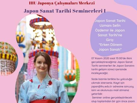JAPON SANAT TARİHİ SEMİNERLERİ