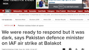 No, Pakistani defence minister did not say Pak could not respond to India due to dark