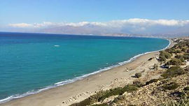 Komos beach South Crete