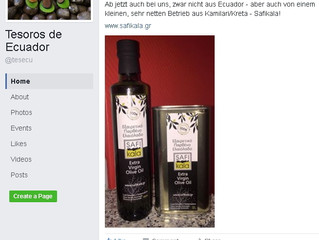 SAFIkala Extra Virgin Olive Oil at the Essen Christmas Market now !