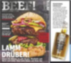 SAFIkala Agoureleo in BEEF! Magazine
