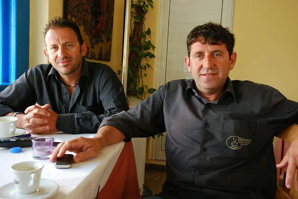 Giorgos and Manolis Spyridakis
